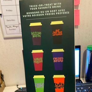 Starbucks Halloween cup set